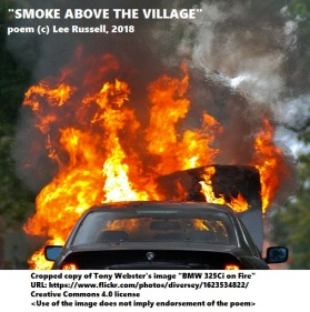 Smoke Above The Village~BurningBMW