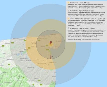 Manston 1MT blast map